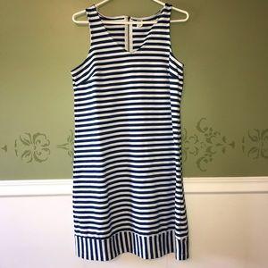 👍🏻3/$25👍🏻 Old Navy striped dress, 10 Tall